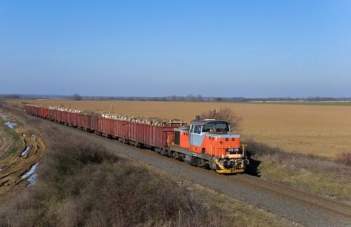 railroad sunshine train landscape rail railway máv vonat vasút mozdony teher várda dácsia tolatós m471319 somogyvári
