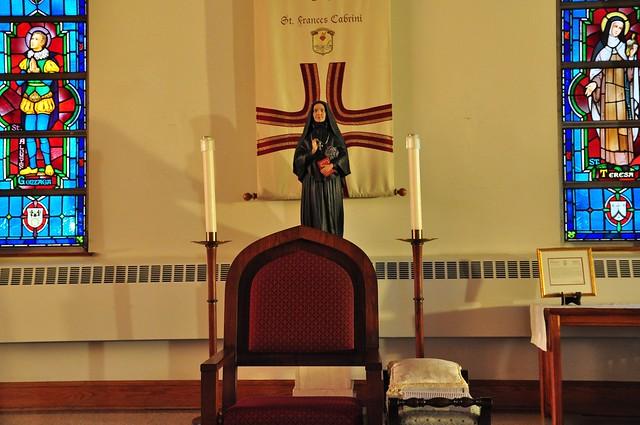 St. Frances Xavier Cabrini, St. Joseph Bruckman Memorial Chapel