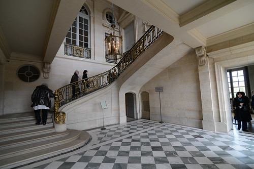 Le grand escalier - Petit Trianon | by Jorge Lascar