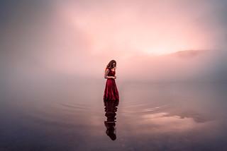 Moment's Reflection   by Elizabeth Gadd