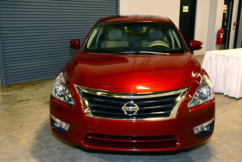 Nissan display | Altima with CVT transmission  | USEPA