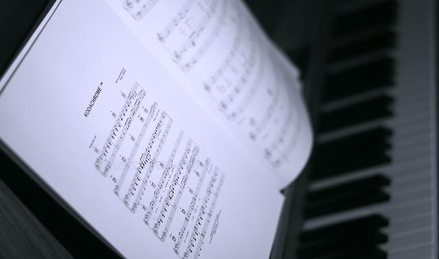 Small group weekly challenge - Music -   Kodachrome - Playing some Paul Simon on the piano..