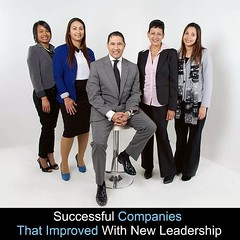 Successful Companies That Improved With New Leadership http://ow.ly/HBBvl  ************************************************************ #leadingentrepreneurstovictory #davidbreth #businessconsultancyservices #businessconsultant #smallbusiness #JFJimStraw