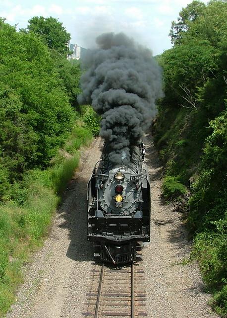 Union Pacific 844 Russellville, Arkansas