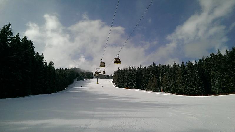 Hochwurzen, Gipfelbahn