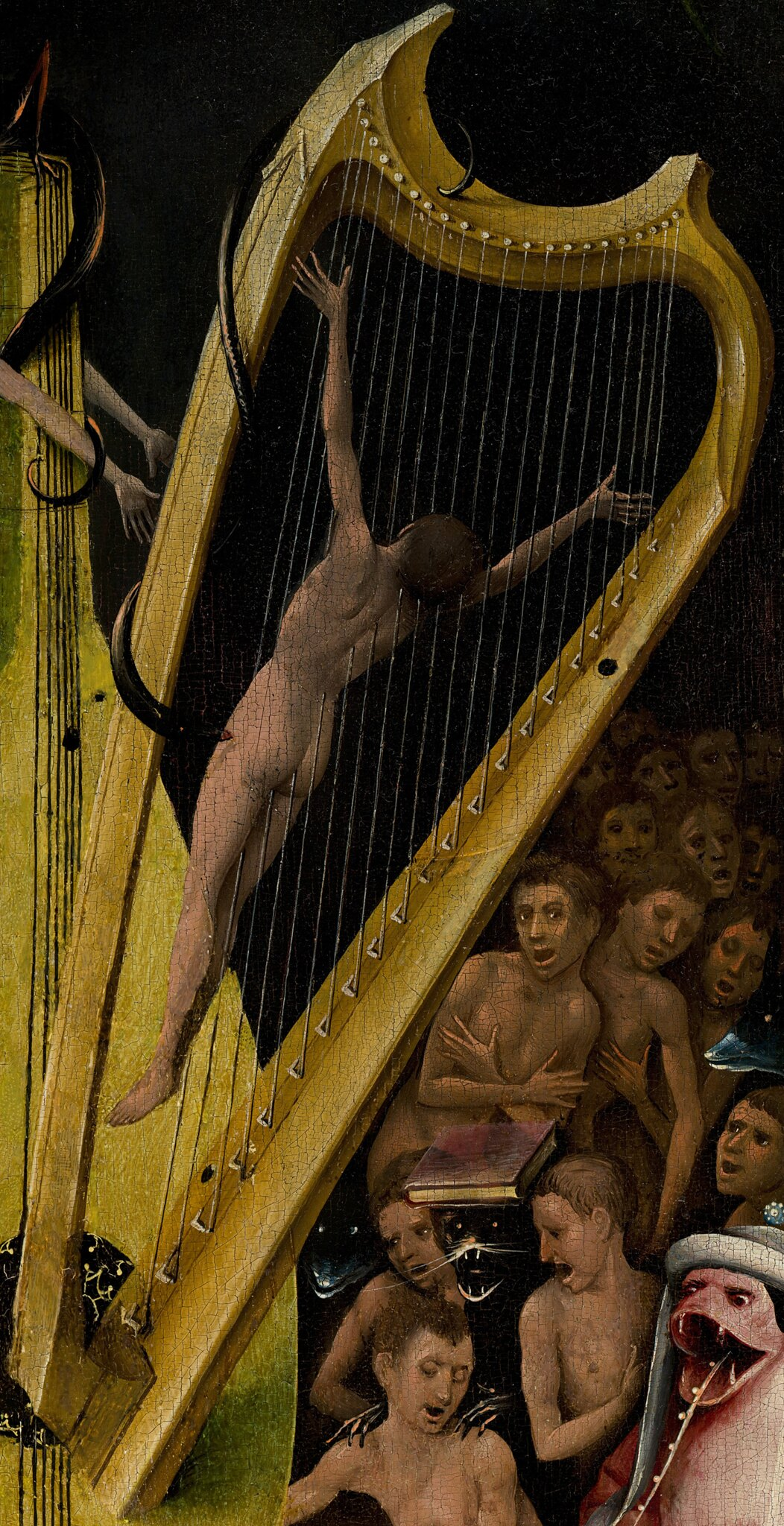 The Hell Harp of Hieronymus Bosch