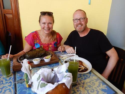 Merida - comida Yucateca bij Chaya Maya