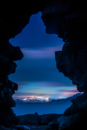 blue sunset mountain landscape landscapes iceland moody purple reykjavik dramaticsky leefilters johanneyfells islandsvardansculpture fineartengland