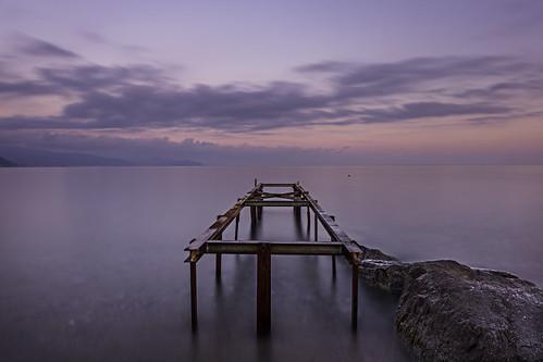 longexposure sunset sea sky clouds tramonto nuvole mare liguria cielo hoya pontile santamargherita lungaesposizione filternd400 enricocusinatti filtrod400