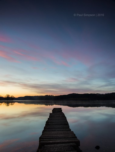 sunrise scotland nikon jetty loch aberfoyle scottishhighlands lochard kinlochard