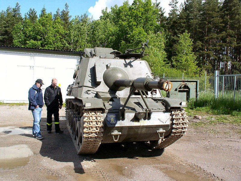 Pansarvarnskanonvagn m-43 1