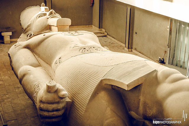 The colossus of Rameses II