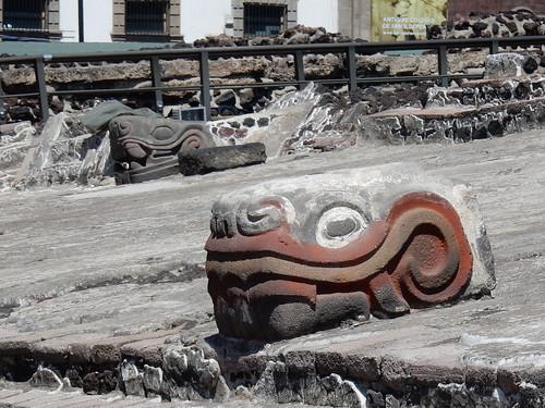 Ciudad Mexico - Templo Mayor - 1