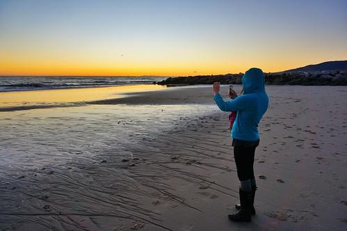 ocean california sunset beach water losangeles vibrant goldenhour pacificpalisades willrogersstatebeach