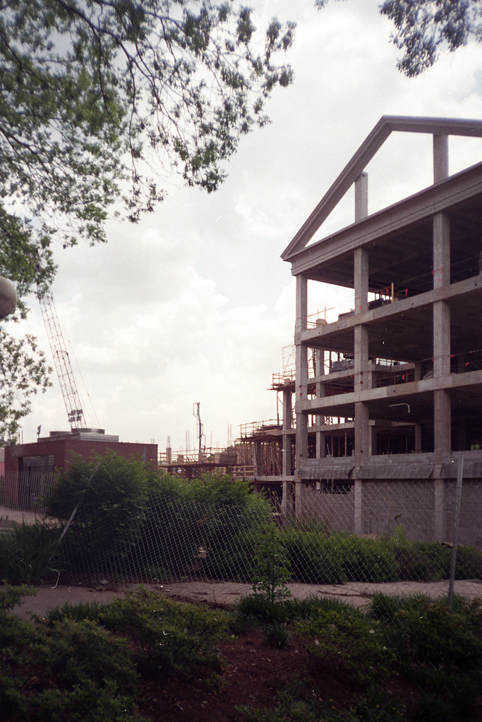 student learning center - under construction | Concrete fram