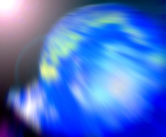 Terre soufflée - Vaporised Earth