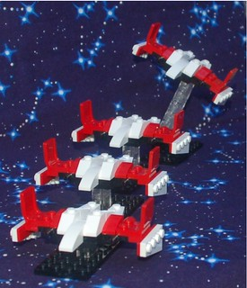 A Formation of Star Hawks   by Mantis.King