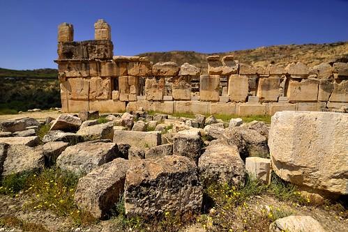 sky heritage history architecture landscape ruins stones jordan jordanien jordania sigmalens multilayerimage nikond3100 herkanus