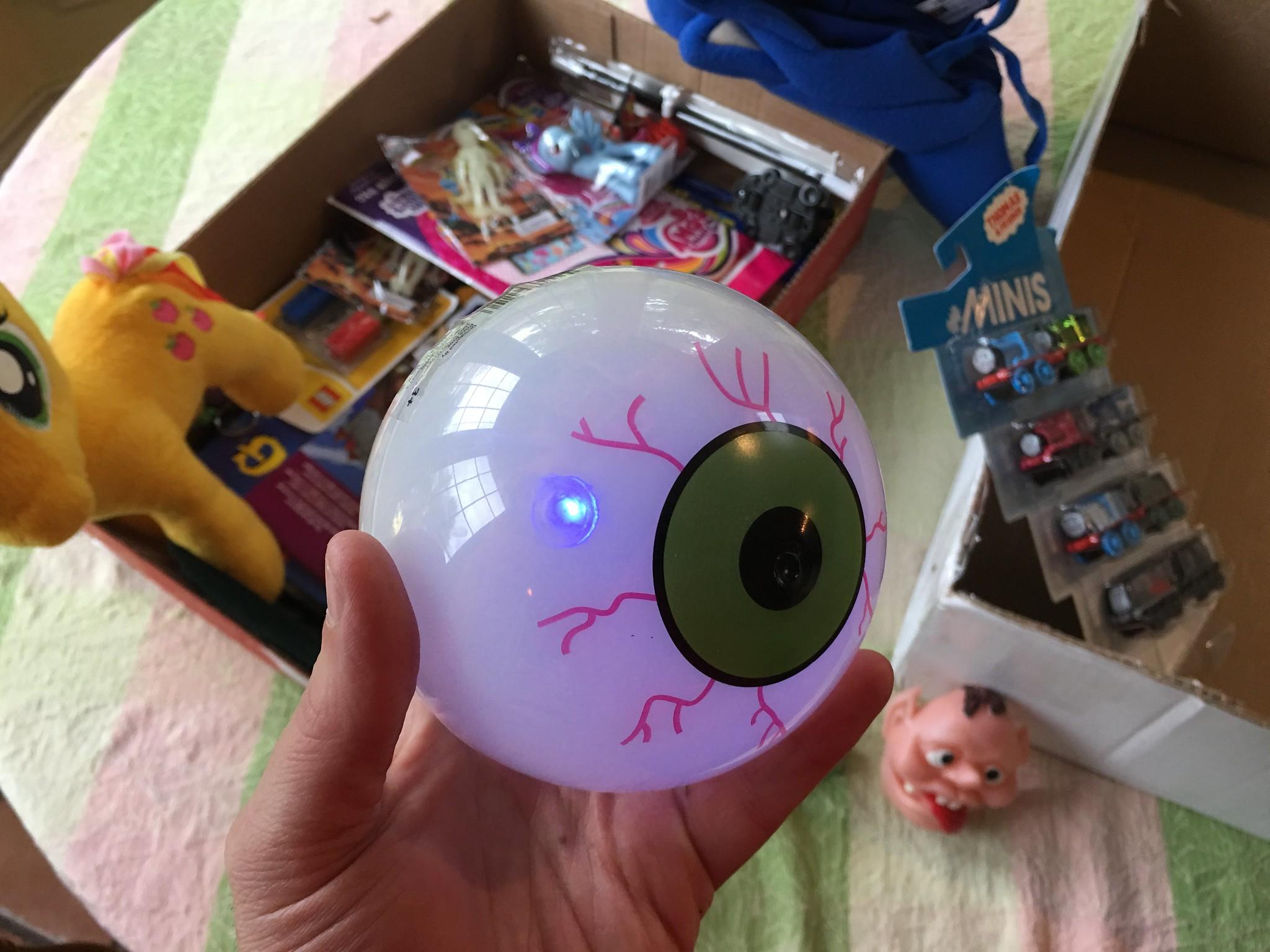 Glowing Eyeball
