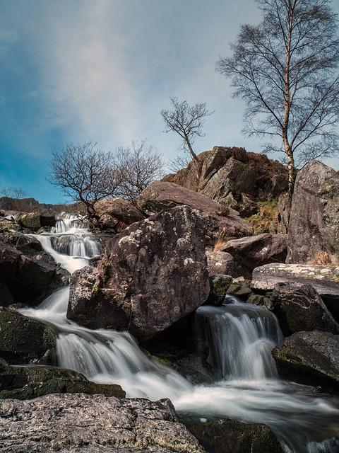 Mini Falls near Llyn Idwal