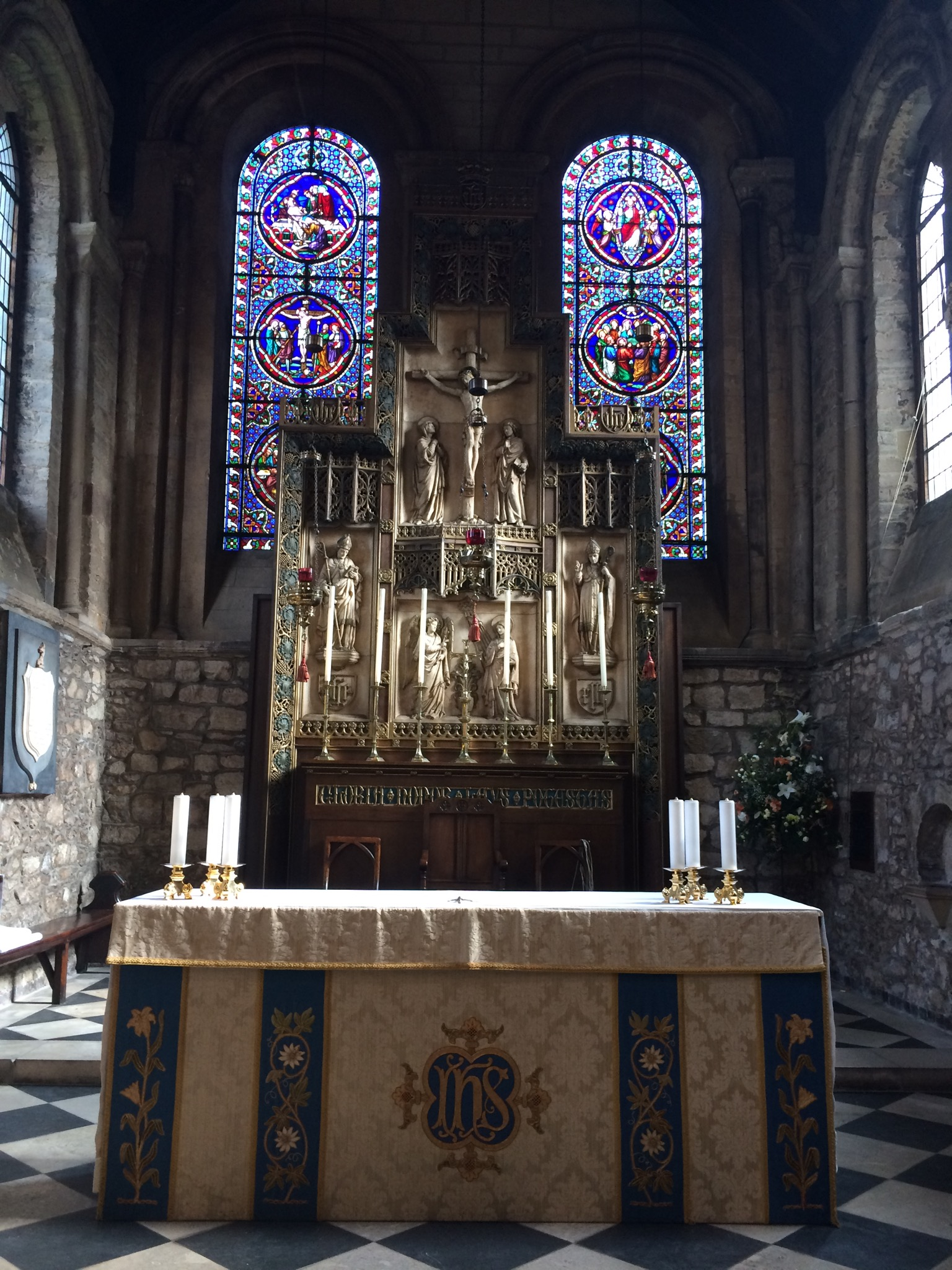 High altar, St Mary de Castro