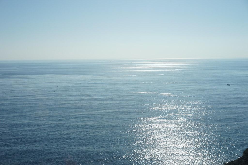 シーキャンドルからの水平線