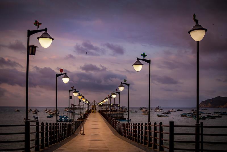 Puerto Lopez Pier