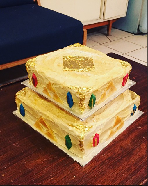 Zelda Themed Maple Wedding Cake Pil And Galia Kollectiv Flickr