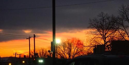 winter newyork sunrise earlymorning johnsoncity sunrisecolor