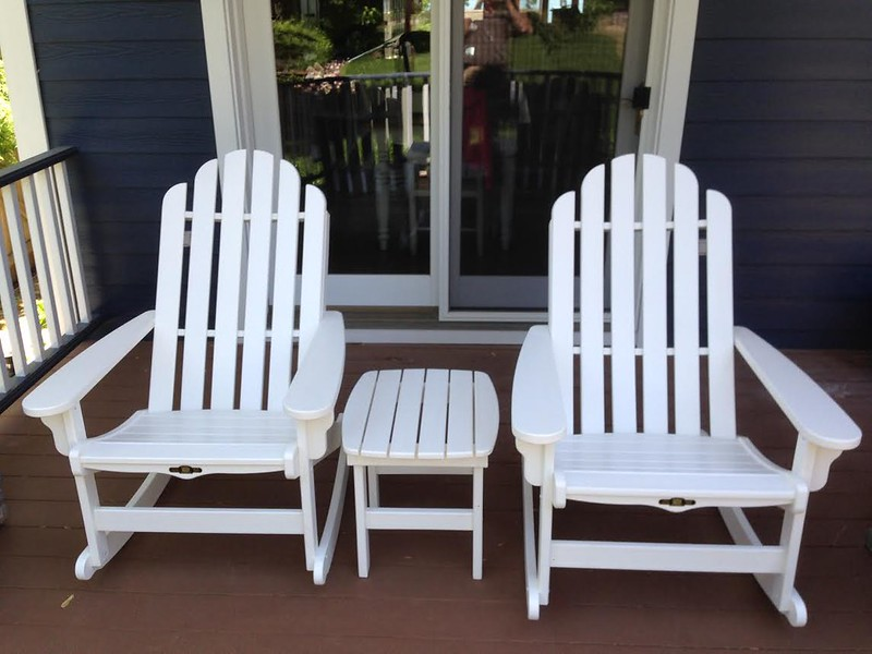 Pawley's Island Rockers White