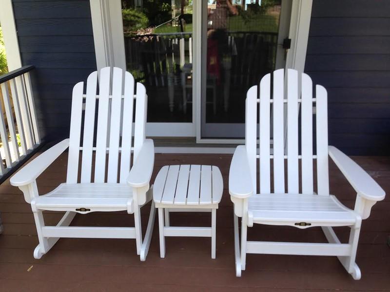 Pawley's Island Rockers White