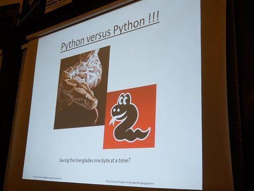 Python Versus Python