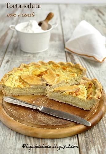 Torta salata ai cardi senza glutine | by mammadaia