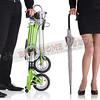300-132-1 Carry2015- CarryMe STD 8單速折疊小輪車 -米白色(平光香草白)-限量款
