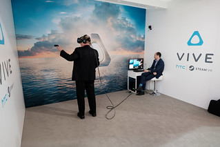 HTC Vive VR - Mobile World Congress 2016 | by Janitors
