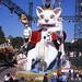 2008, Nice, Carnaval CXXIV, Roi des Ratapignatas, Raminagrobis et autres ramassis de rats masqués