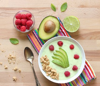 Avocado smoothie bowl finalChickpeas and AvocadoSmoothie Bowl 2 | by mealmakeovermoms