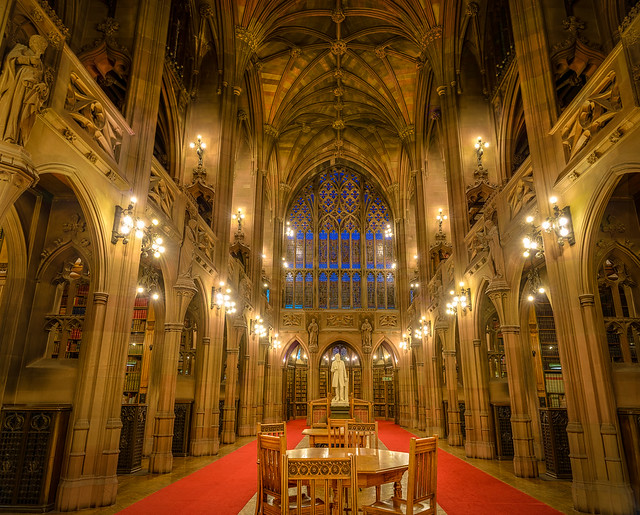 John Rylands library in Manchester