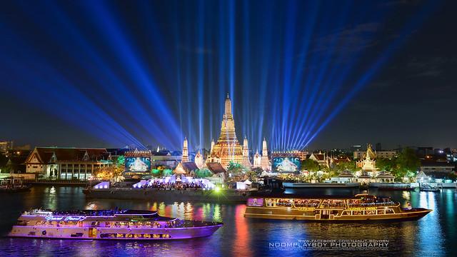 Wat Arun Rajwararam in Bangkok (Thailand)