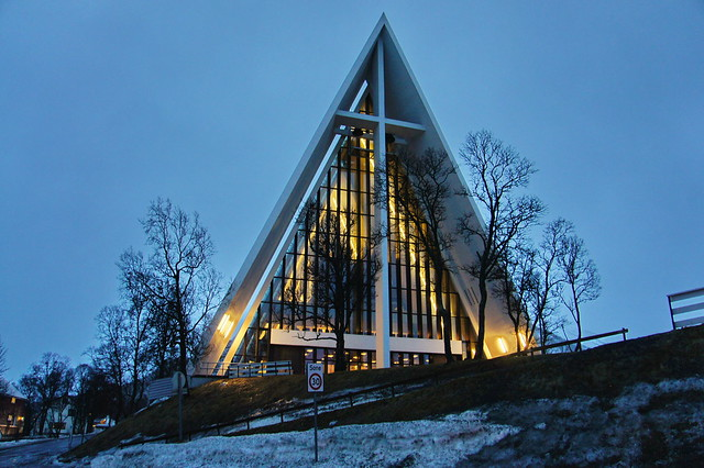 The Arctic Cathedral - a landmark in Tromsø