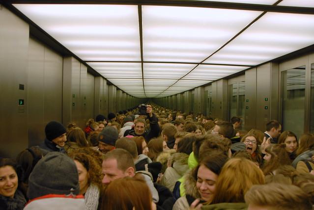 Reichstag elevator