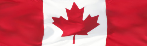 Canadian Flag Banner | by Laurel L. Russwurm