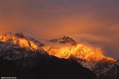 pakistan sky snow mountains ice clouds landscape location elements tele hunza summits aliabad gilgitbaltistan