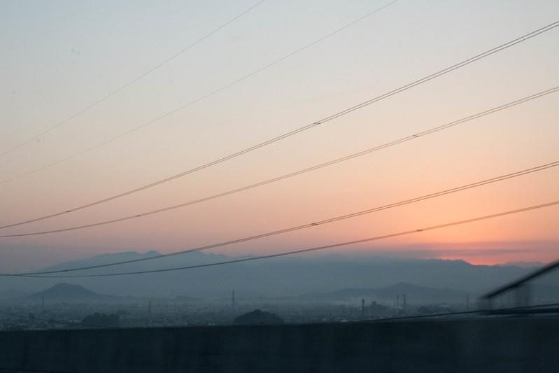 早朝の奈良