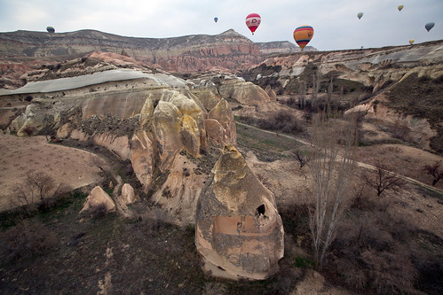 Ballooning in and around Göreme | by prilfish