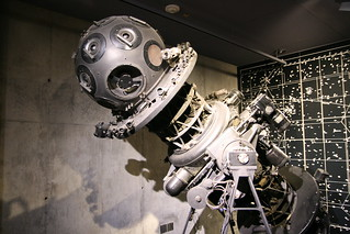 Griffith Observatory's 'retired' planetarium equipment on display | by mil8