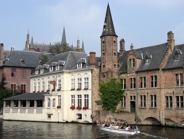 Boat Tour Through the Canals, Brugge