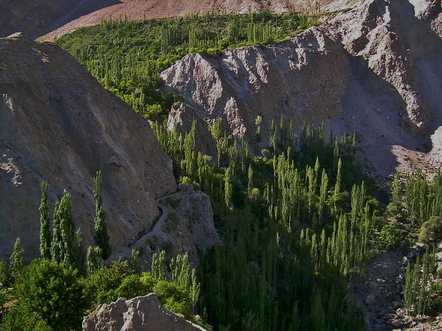 """View from Baltit Fort, Hunza, Pakistan - June 2006"""""""