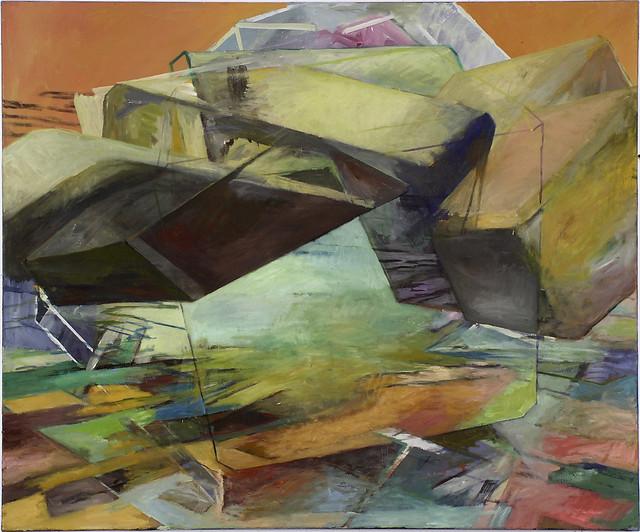 FatU, 100 x 120 cm Eitempera/Öl auf Nessel