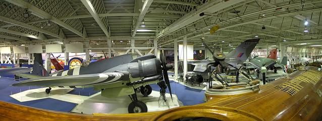 Royal Air Force museum panorama 1